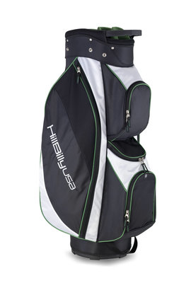 Golf Bag in White and Black